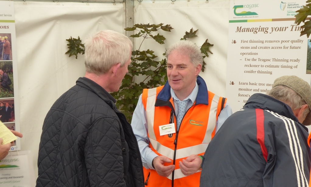 Liam Kelly, Forestry Adviser with Teagasc discusses management options