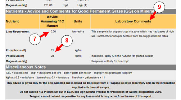 bio lab report food test