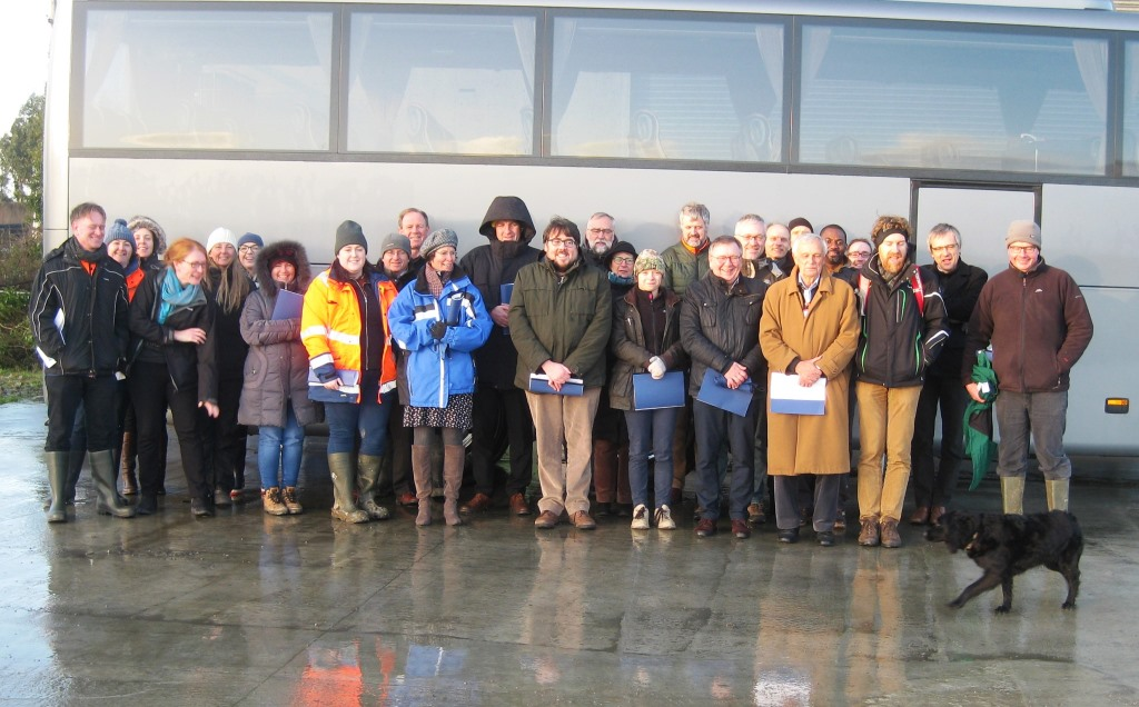 The NW Europe Policy-Science Working Group on Water Quality and Nutrients held their annual meeting in Dublin recently. As part of the two-day meeting, the group visited some ACP farms and instrumentation in the Dunleer catchment.