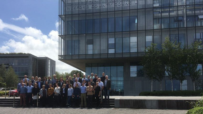 Attendees at WaterProtect meeting held at Wexford County Council offices