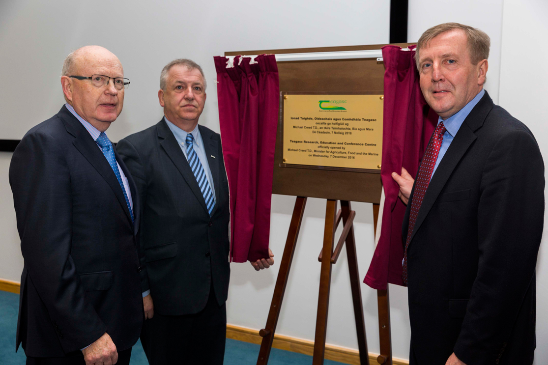 New Teagasc Ashtown Education, Research and Conference Centre Opened