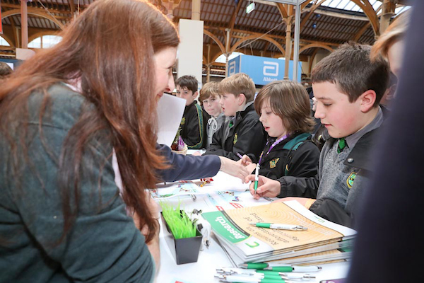 Teagasc at BT Young Scientist and Technology Exhibition 2017