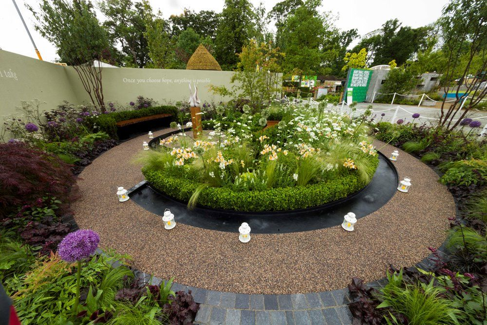 Award winning Teagasc/Pieta House 'Garden of Hope' at Bloom