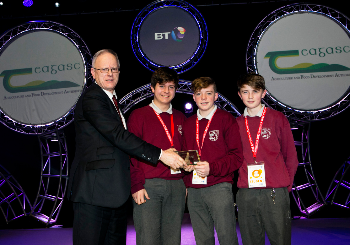 Teagasc Special Award at BTYSTE 2017 goes to Agroforestry Project
