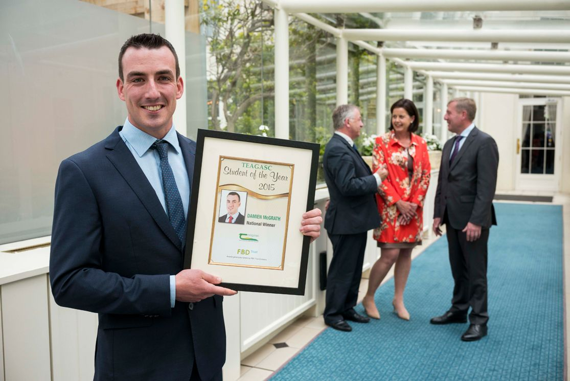 Teagasc / FBD Student of the Year Announced