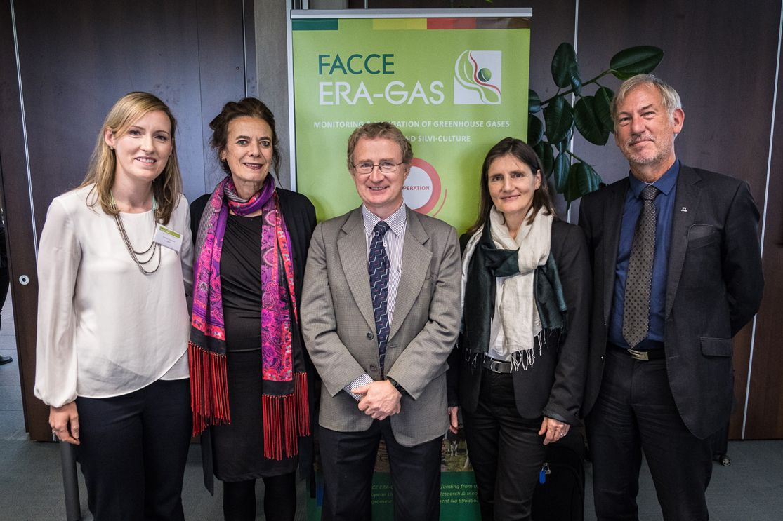 Launch of FACCE ERA-GAS Greenhouse Gas Research Projects