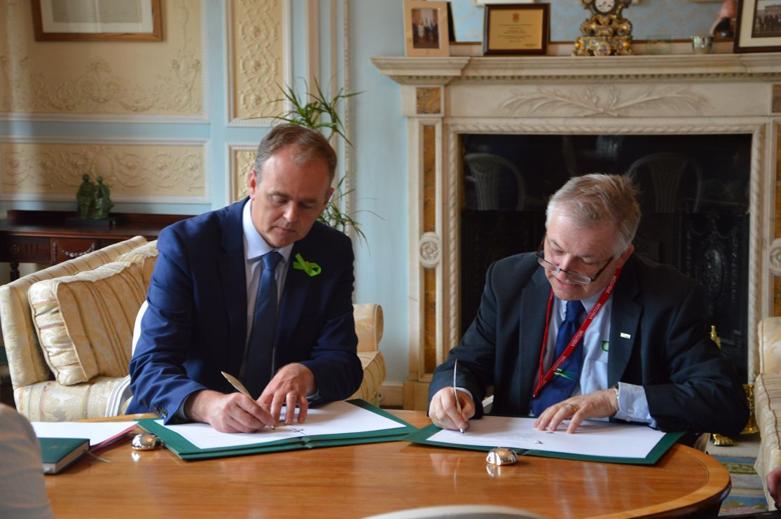 Irish Aid and Teagasc in partnership on Ireland's contribution to Global Agriculture Development