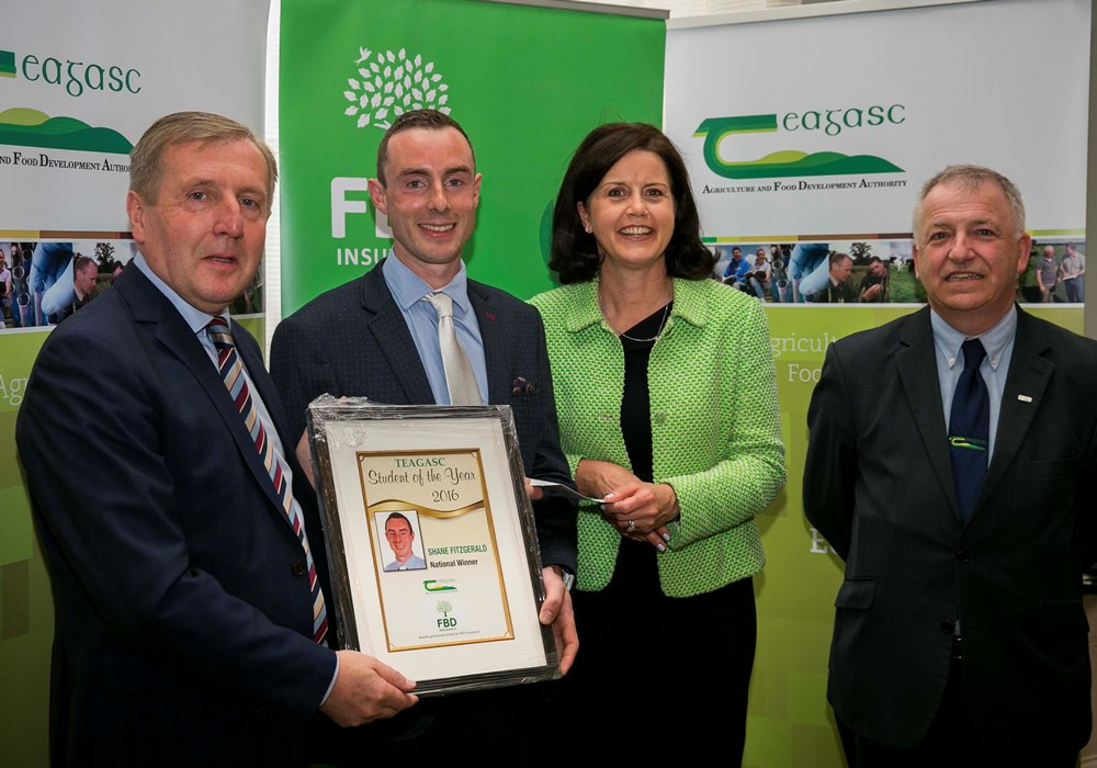 Winner of the Teagasc / FBD Student of the Year Award Announced