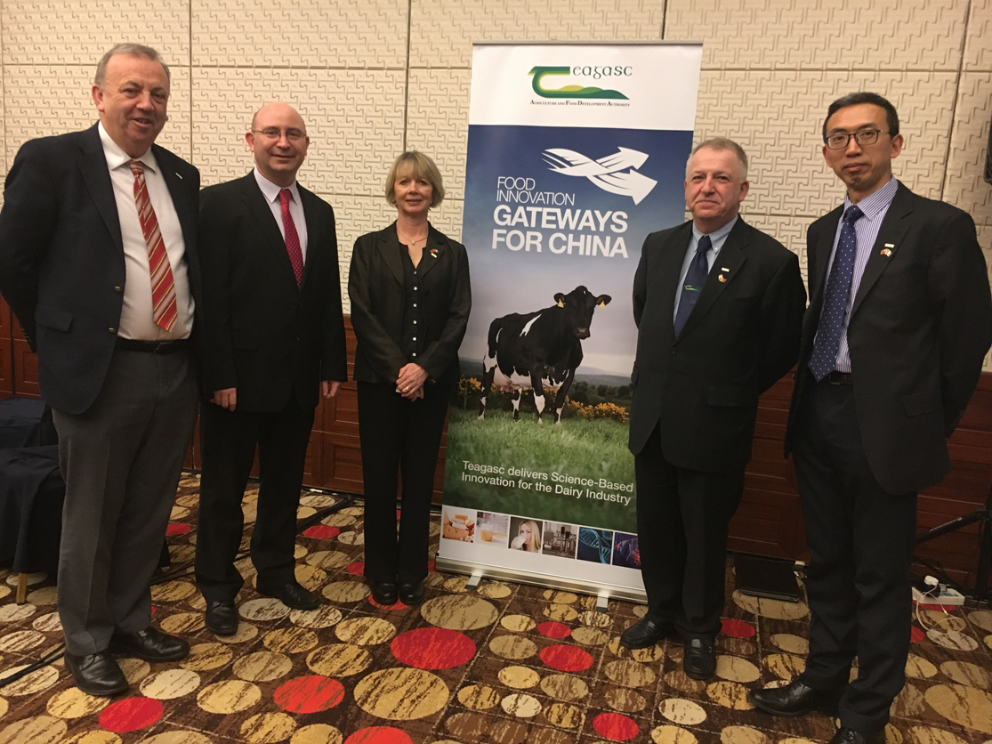 Teagasc Food Research presented to Chinese Food Companies