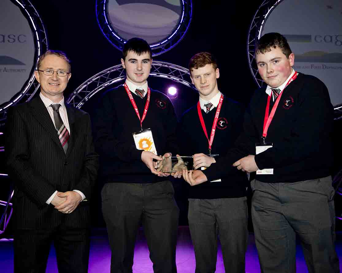 Teagasc Special Award at BTYSTE 2018