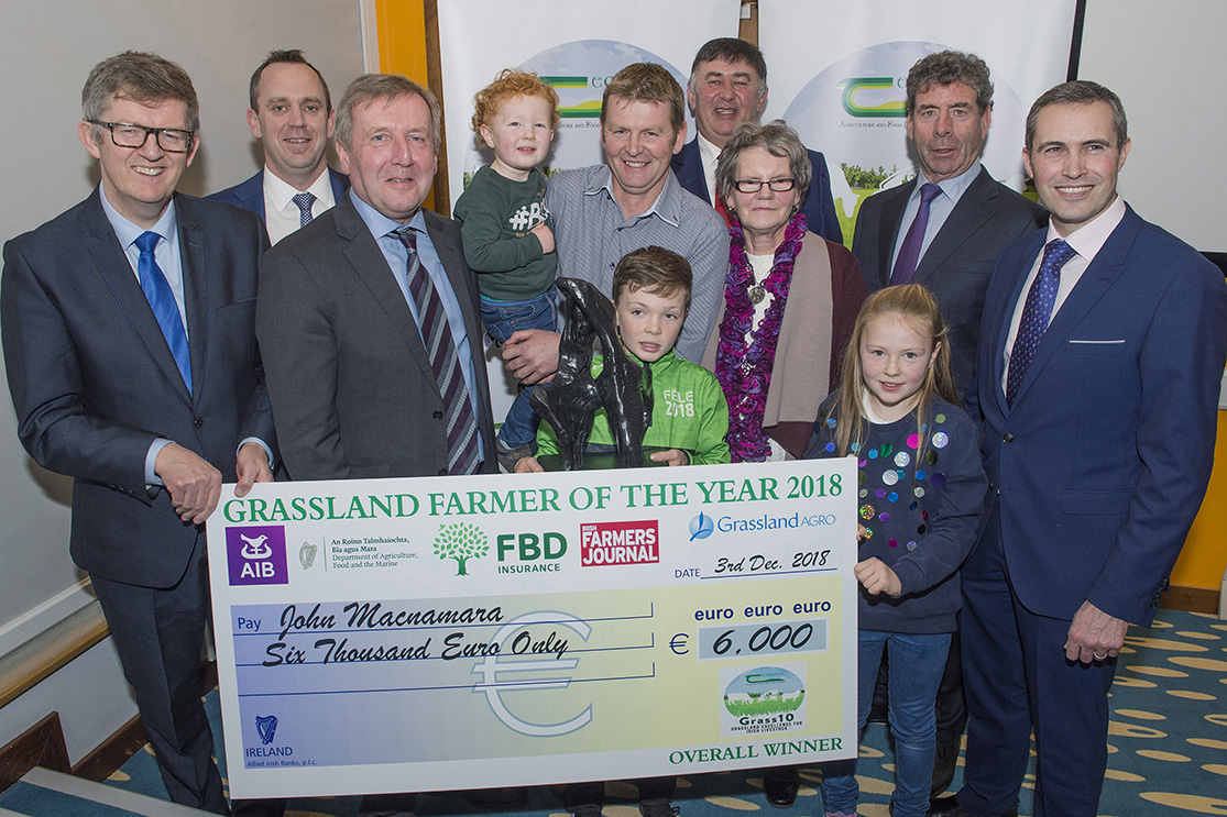 Minister Creed Announces Grassland Farmer of the Year Winners