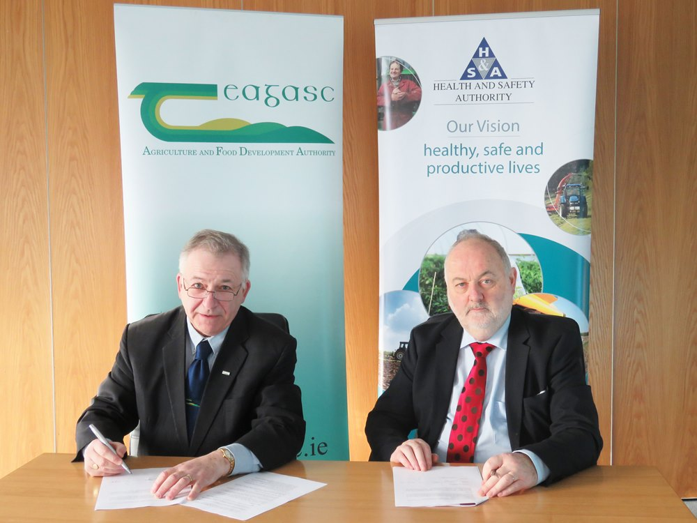 Teagasc and HSA renew joint initiative to promote farm safety and health