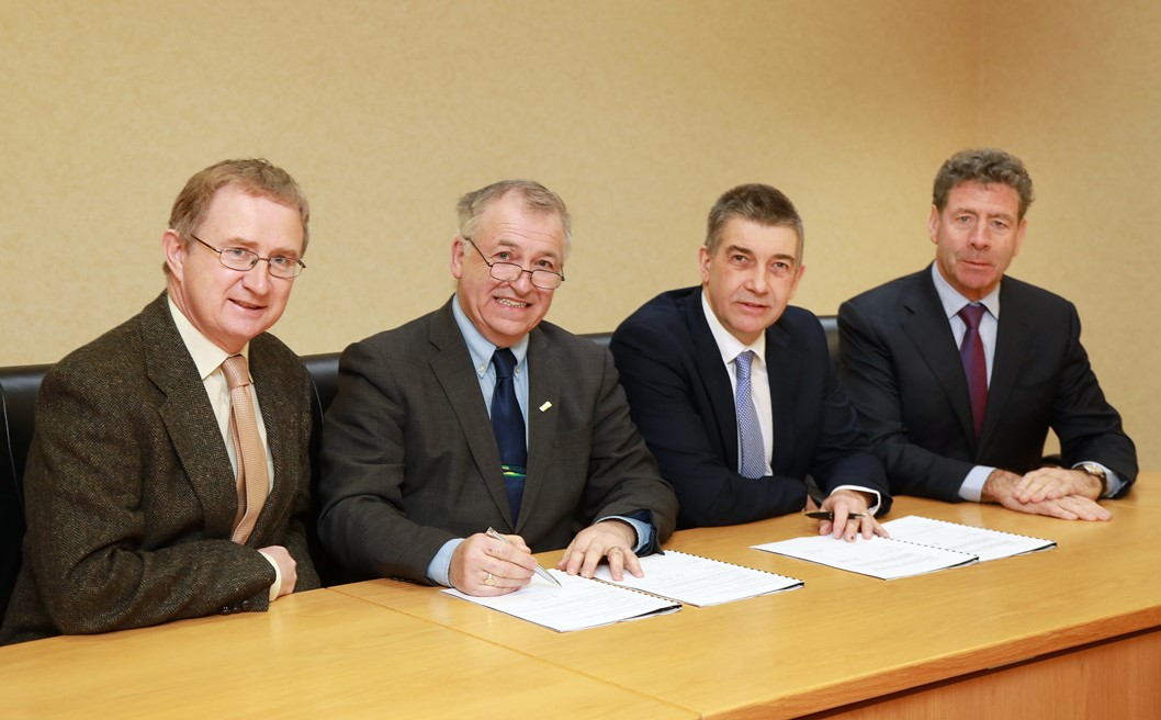 Teagasc and Animal Health Ireland renewed Memorandum of Understanding