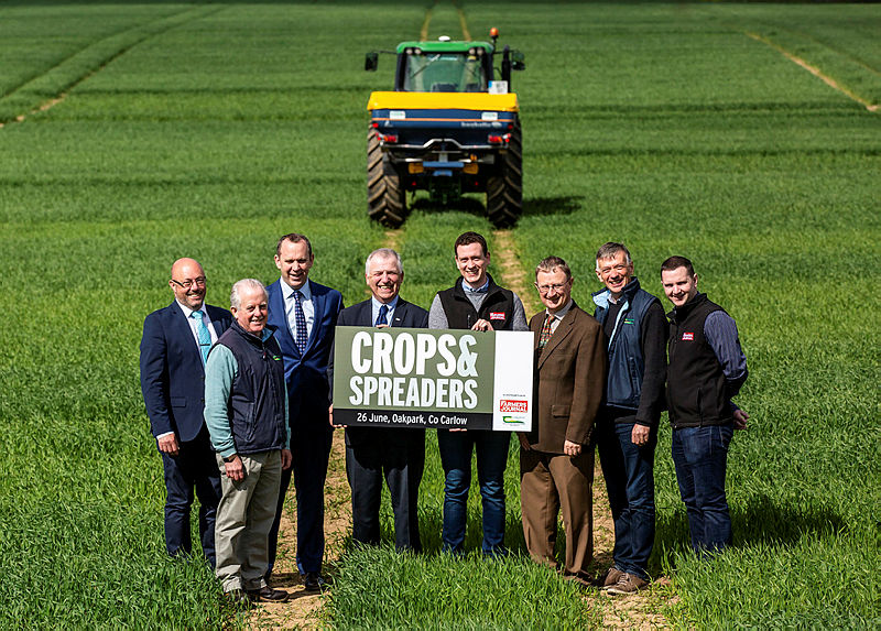 Crops and Spreaders Open Day at Teagasc Oak Park