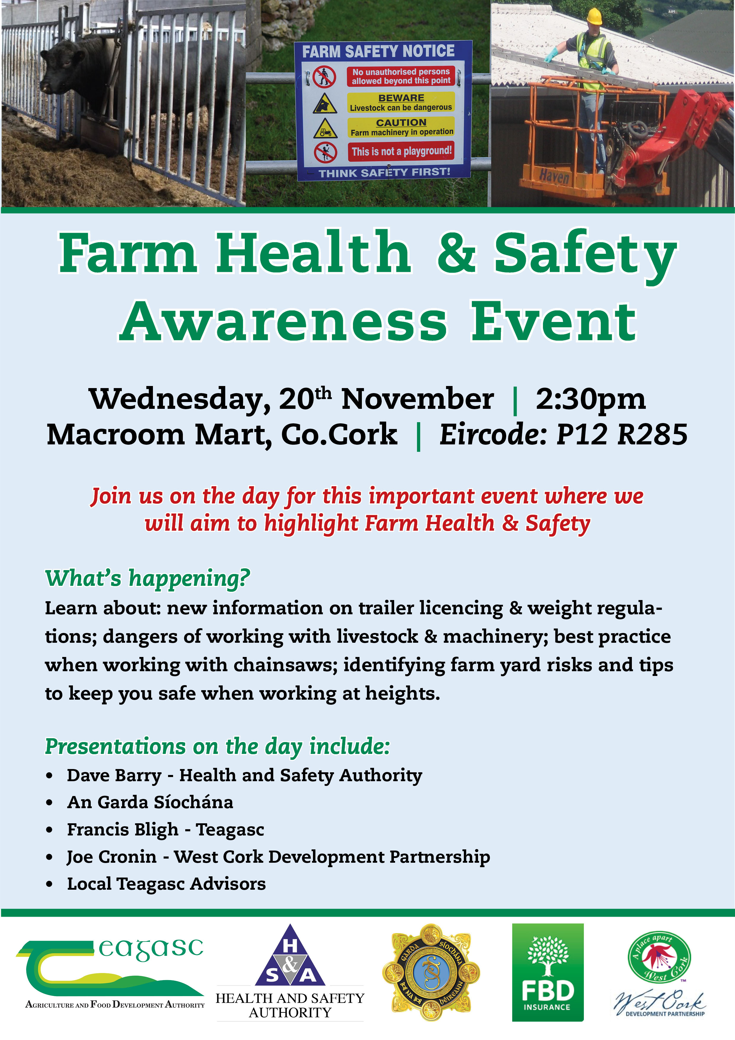 Family Farm Health and Safety Awareness Day