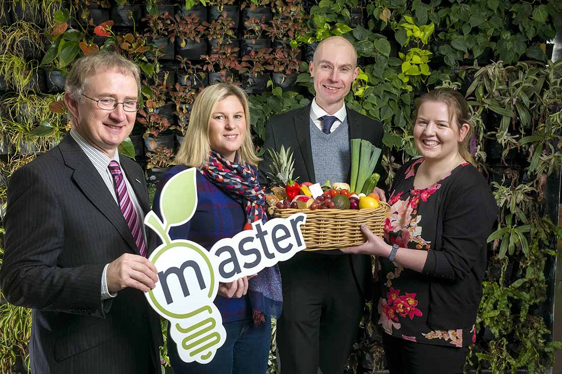 'Master project receives €11 million euro in funding  for microbiome applications for food chain sustainability'