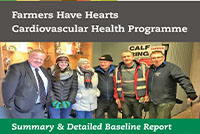 'Farmers Have Hearts' Cardiovascular Health Programme - Major Study indicates Farmers at high risk of Cardiovascular Disease