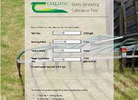 Teagasc Online Slurry Spreader Calibration Calculator