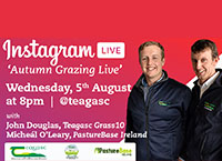InstaLive with Teagasc Grass10 & PastureBase Ireland