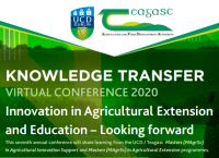 Innovation in Agricultural Extension and Education – Looking forward