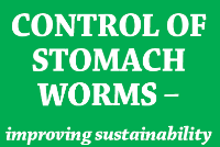 Control of Stomach Worms – improving sustainability