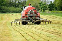 Slurry timing & application to protect the environment