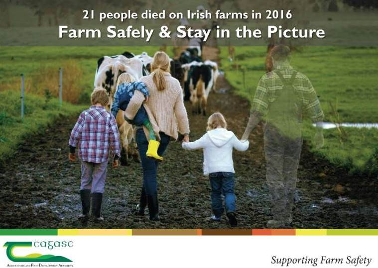 Farm Safely Stay in the picture farm family with father faded out