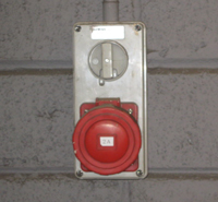 Outdoor electrical switch
